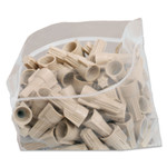 AbilityOne 8105008377757, SKILCRAFT Seal Closure Bags, 12 x 12, Clear, 500/Carton Product Image