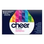 Cheer Powder Laundry Detergent, Fresh Clean Scent, 1.5 oz Box, 156/Carton Product Image