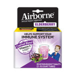 Airborne Immune Support Effervescent Tablet, Elderberry, 20 Count Product Image