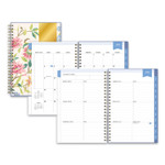 Blue Sky Day Designer CYO Academic Year Weekly/Monthly Planner, 8 x 5, Climbing Floral Blush, 2021-2022 Product Image