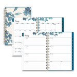 Blue Sky Frosted Weekly/Monthly Planner, 8 x 5, Bakah Blue, 2022 Product Image