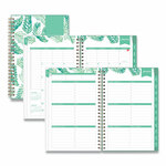 Blue Sky Day Designer Frosted Cover Weekly/Monthly Planner, 8 x 5, Palms, 2022 Product Image