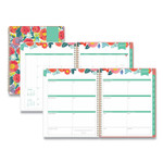 Blue Sky Day Designer Frosted Cover Weekly/Monthly Planner, 11 x 8.5, Floral Sketch, 2022 Product Image