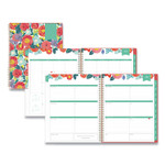 Blue Sky Day Designer Academic Year Frosted Weekly/Monthly Planner, 11 x 8.5, Floral Sketch, 2021-2022 Product Image