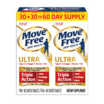 Move Free Ultra Triple Action with UCII Twin Pack, 60 Tablets Product Image