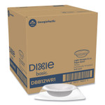 Dixie Everyday Disposable Dinnerware, Individually Wrapped, Bowl, 12 oz, White, 500/Carton Product Image
