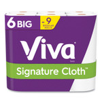 Viva Signature Cloth Choose-A-Sheet Kitchen Roll Paper Towels, 2-Ply, 11 x 5.9, White, 78 Sheets/Roll, 6 Roll/Pack, 4 Packs/Carton Product Image