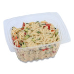World Centric PLA Rectangular Deli Containers, 16 oz, 4.8 x 5.9 x 2.8, Clear, 900/Carton Product Image