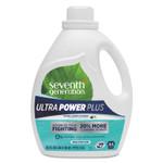 Seventh Generation Natural Liquid Laundry Detergent, Ultra Power Plus, Fresh Scent, 54 Loads, 95 oz Product Image