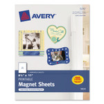 Avery Printable Magnet Sheets, 8.5 x 11, White, 5/Pack Product Image