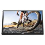 "AOC USB Powered LCD Monitor, 15.6"" Widescreen, TN Panel, 1366 Pixels x 768 Pixels Product Image"