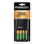 Duracell ION SPEED 4000 Hi-Performance Charger, Includes 2 AA and 2 AAA NiMH Batteries Product Image