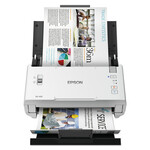 Epson DS-410 Document Scanner, 600 dpi Optical Resolution, 50-Sheet Duplex Auto Document Feeder Product Image