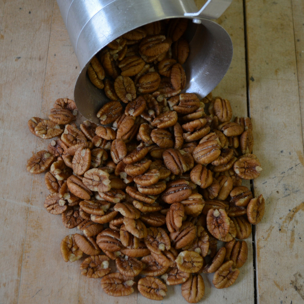 Hickory Smoked Pecans Above