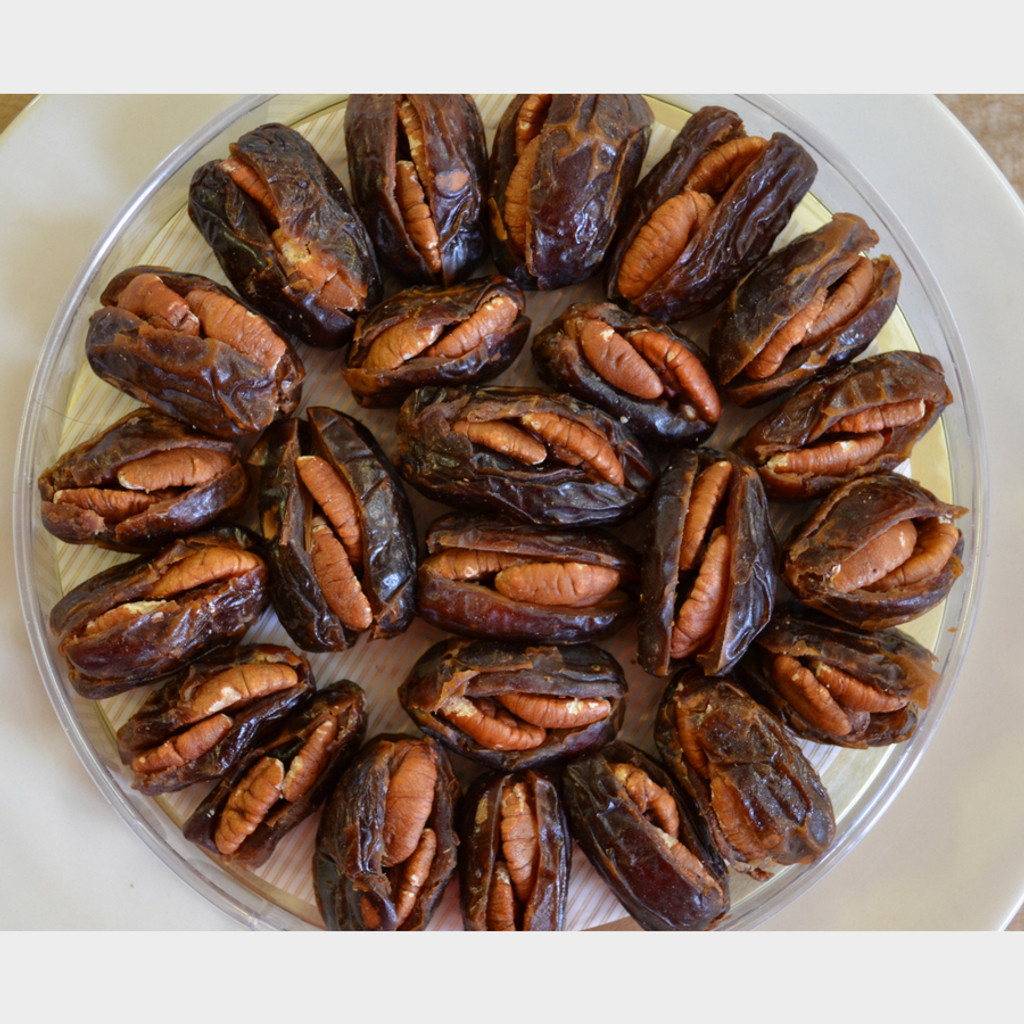 Koinonia Farm Pecan Stuffed Dates Tray