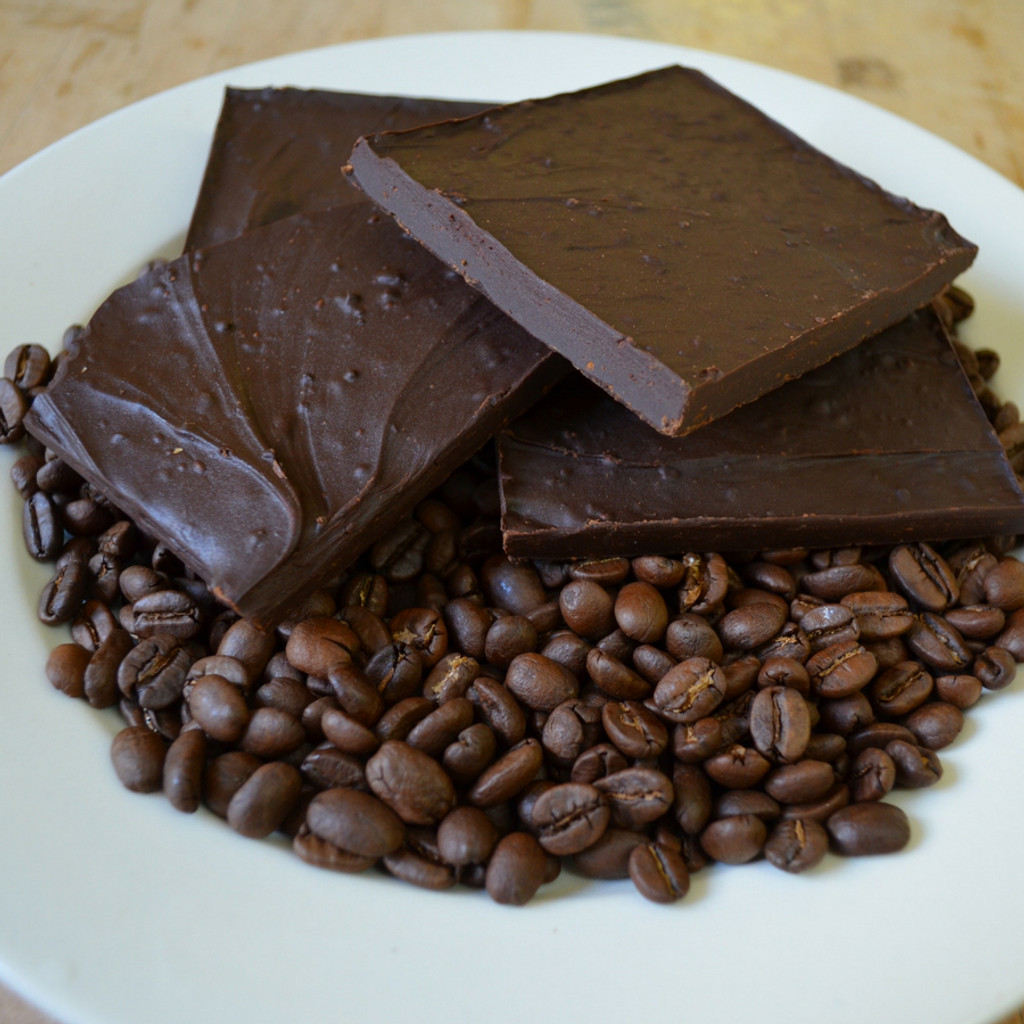 Fair Trade Extra Dark Chocolate Espresso Bean Bark Mid