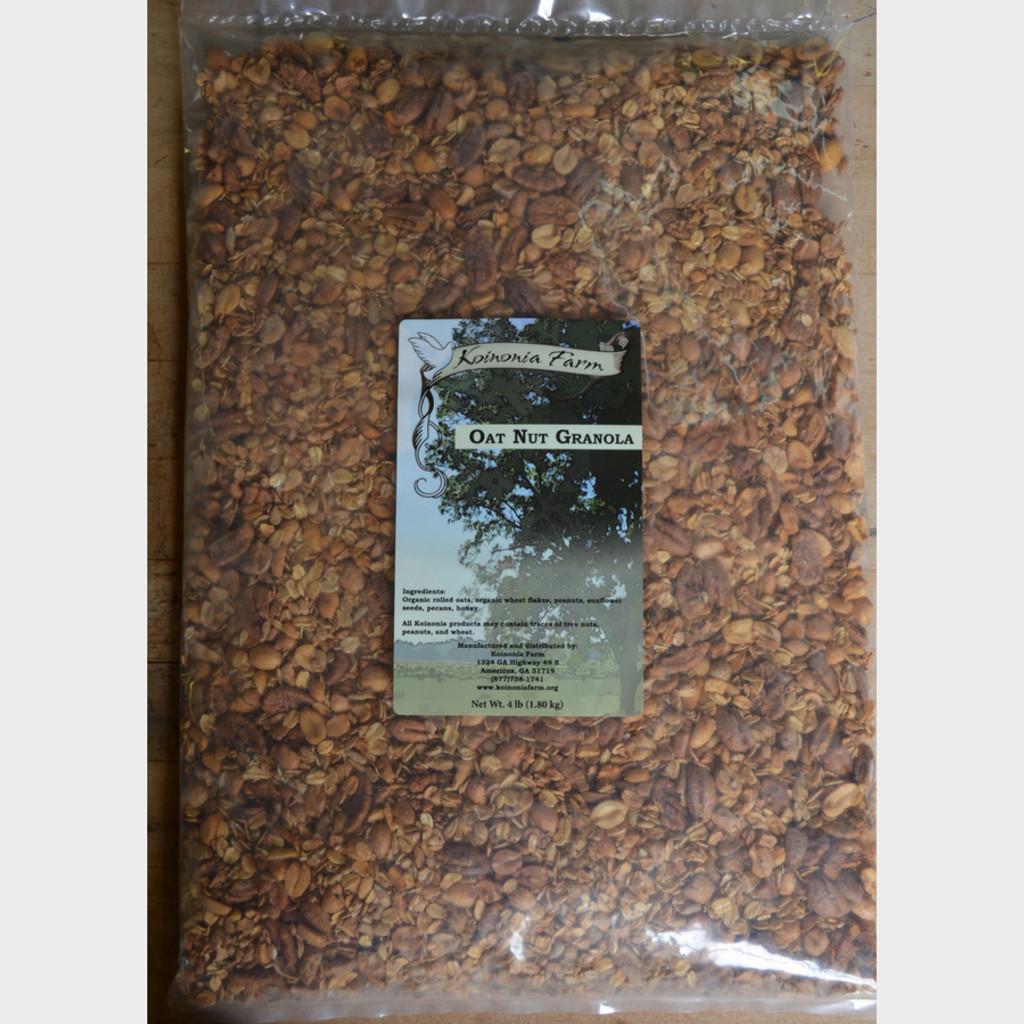 Koinonia Farm Oat Nut Granola 5 Lb Bag