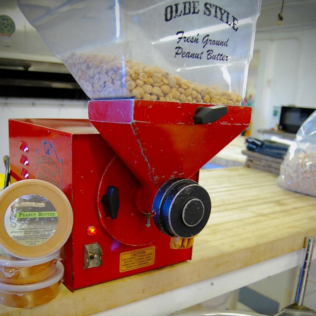 Koinonia Farm Peanut Butter Grinder