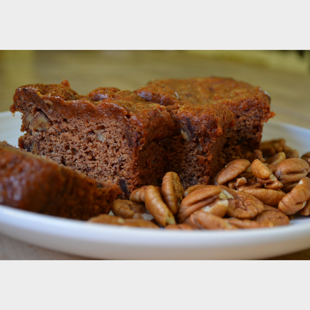 Koinonia Farm Homemade Date-Nut Bread Sliced again