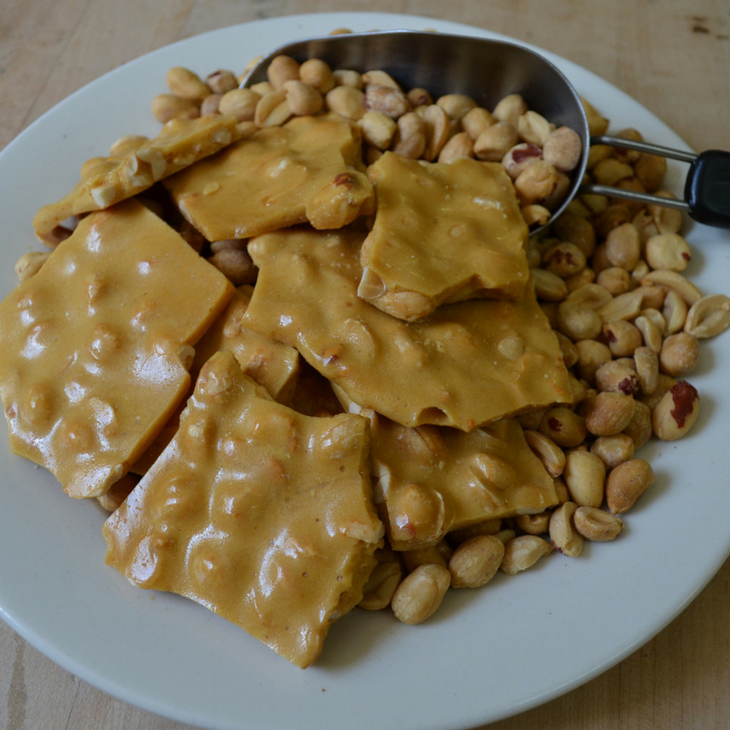 Koinonia Farm Handmade Peanut Brittle Mid