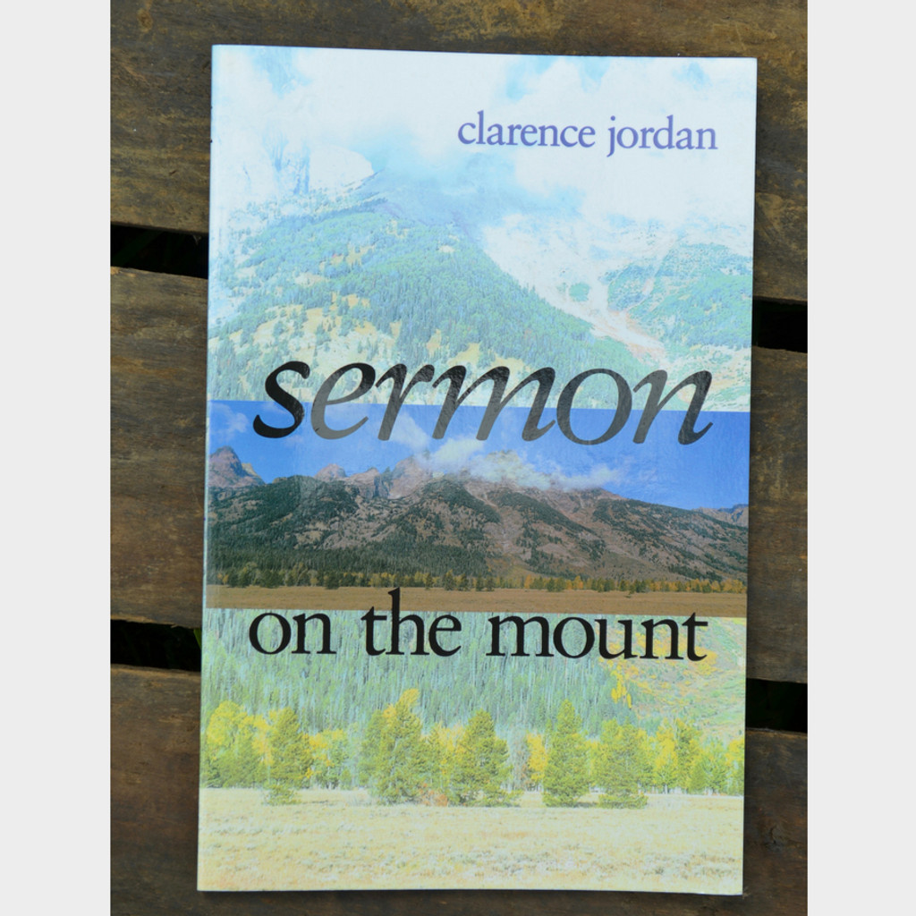 Sermon on the Mount by Clarence Jordan Paperback Book Front Cover