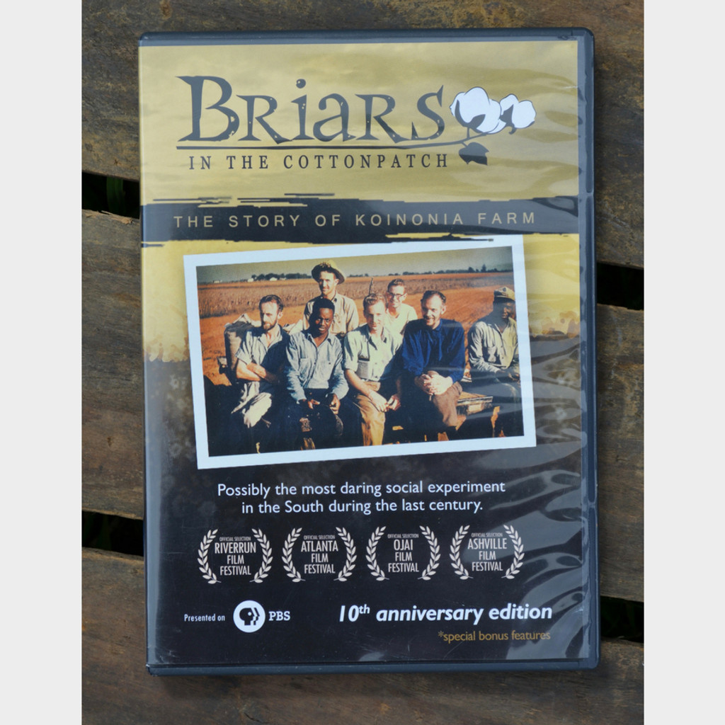 Briars in the Cotton Patch DVD Front Cover