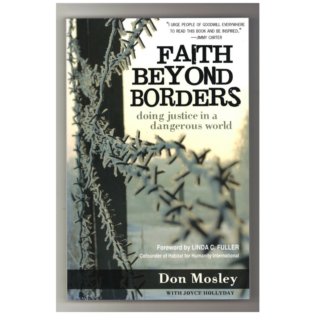 Faith Beyond Borders by Don Mosley Paperback Book Front Cover