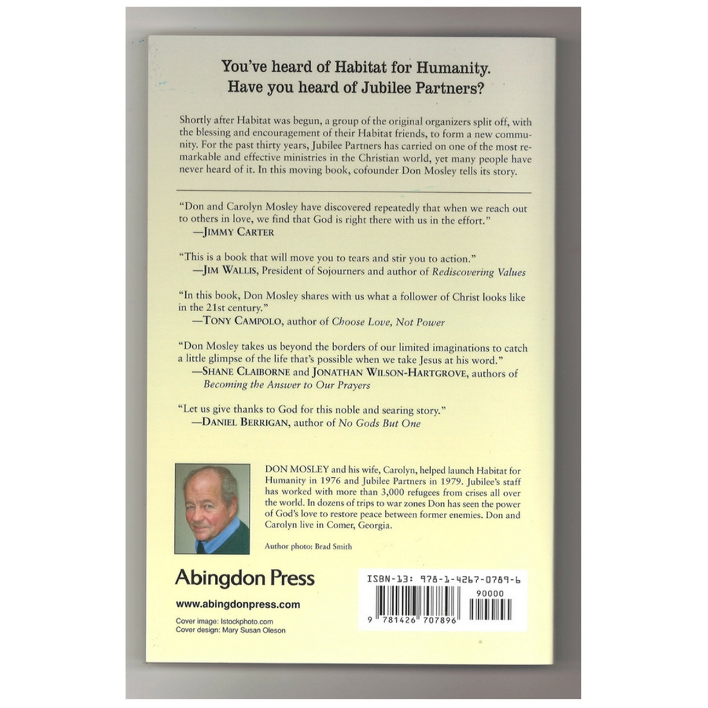 Faith Beyond Borders by Don Mosley Paperback Book Back Cover