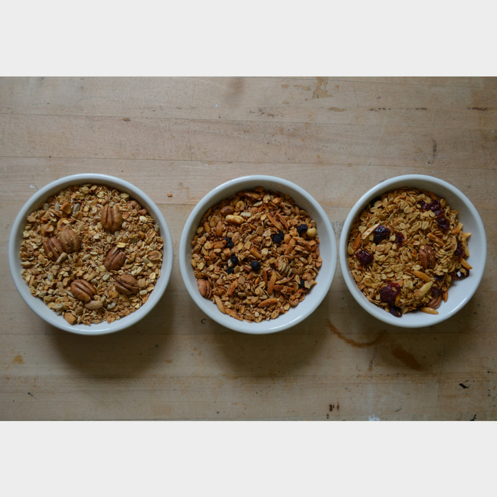 Koinonia Granola Options- Oat Nut, Cranberry, and Blueberry