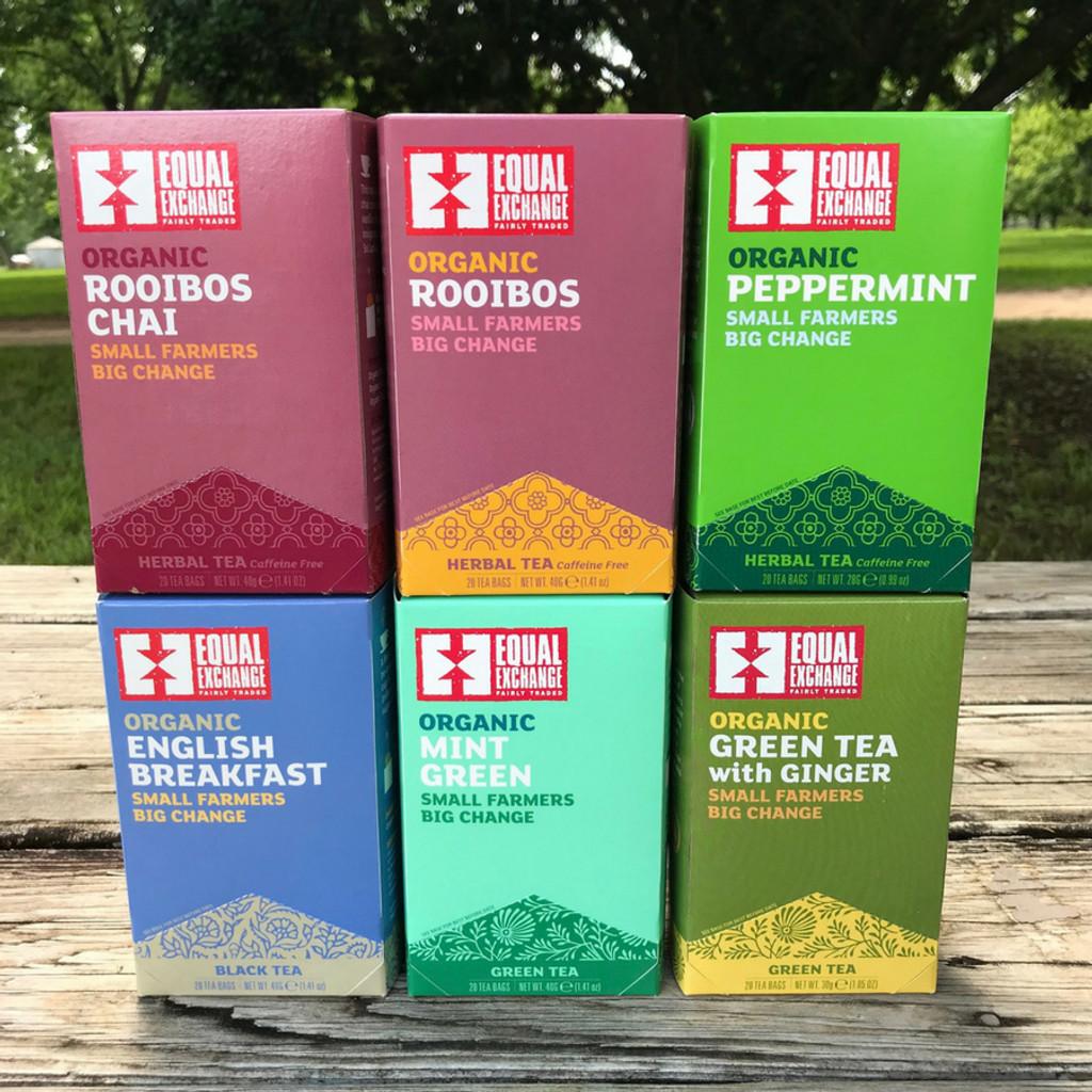 Equal Exchange Fair Trade Tea Options