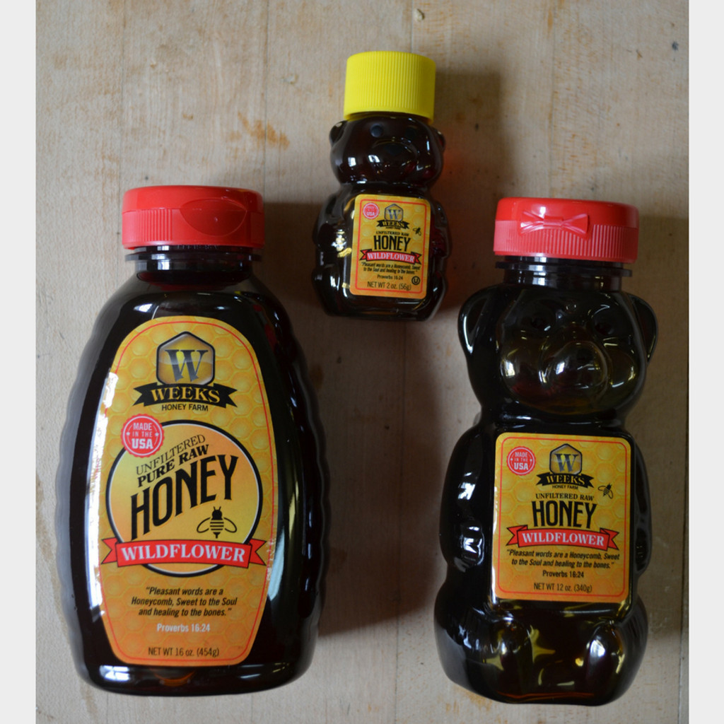 Raw Wildflower Honey Options
