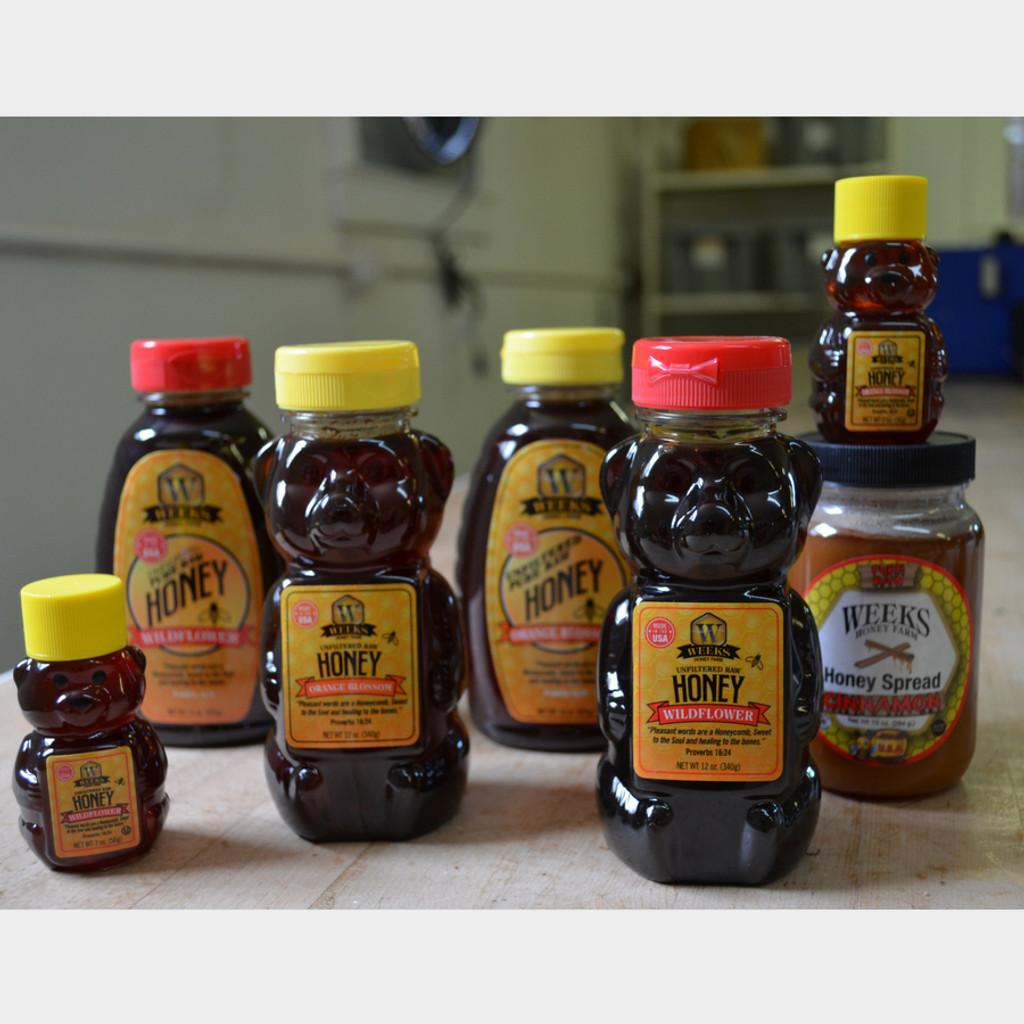 All Raw Honey Variations