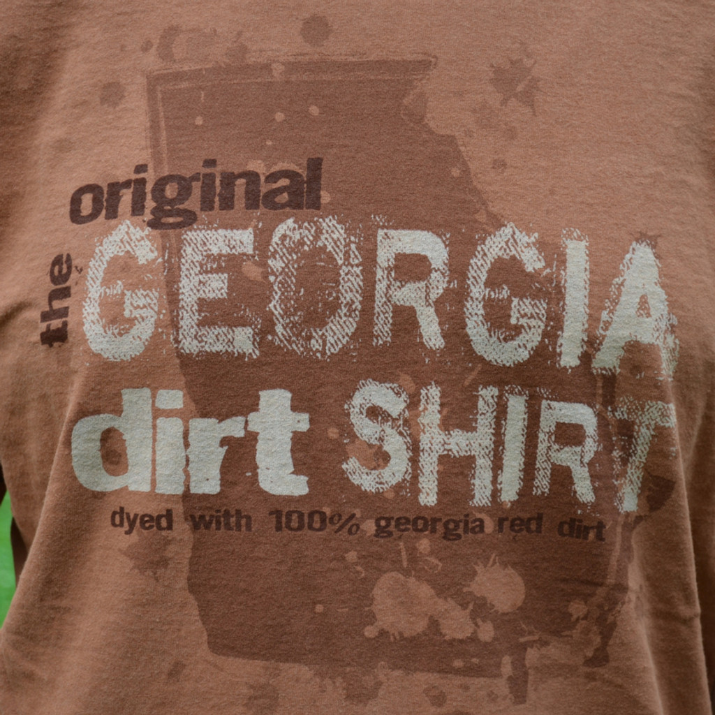 Georgia Dirt Shirt Front Closeup