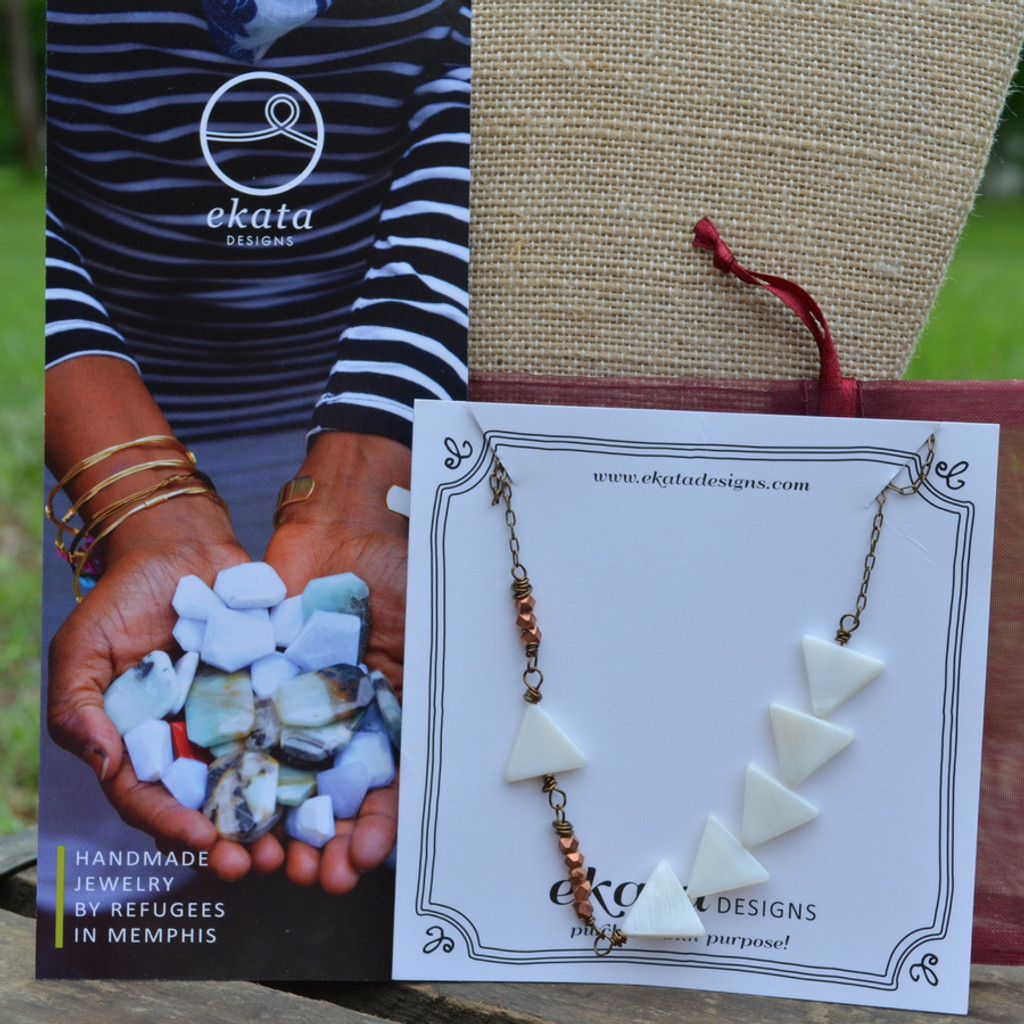 Ekata Designs Journey Necklace Packaging