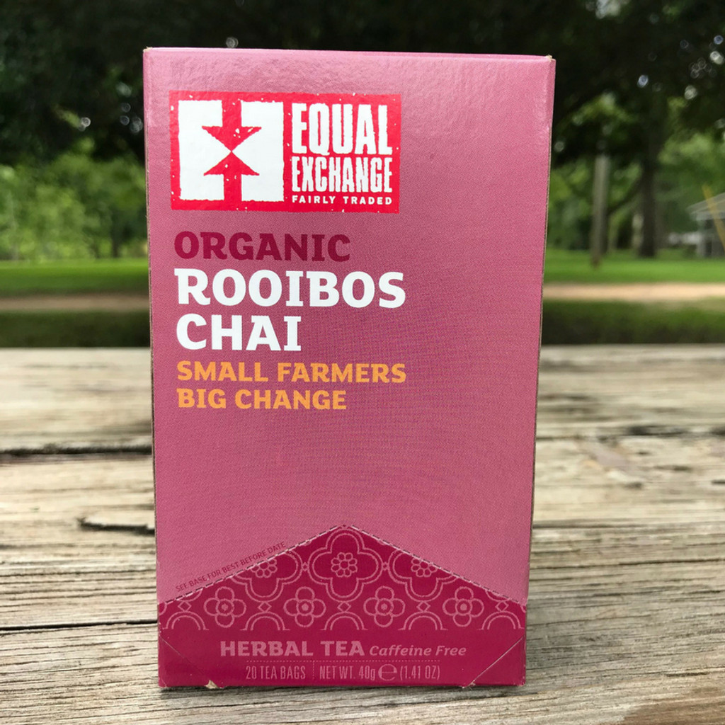 Organic Fair Trade Rooibos Chai from Equal Exchange