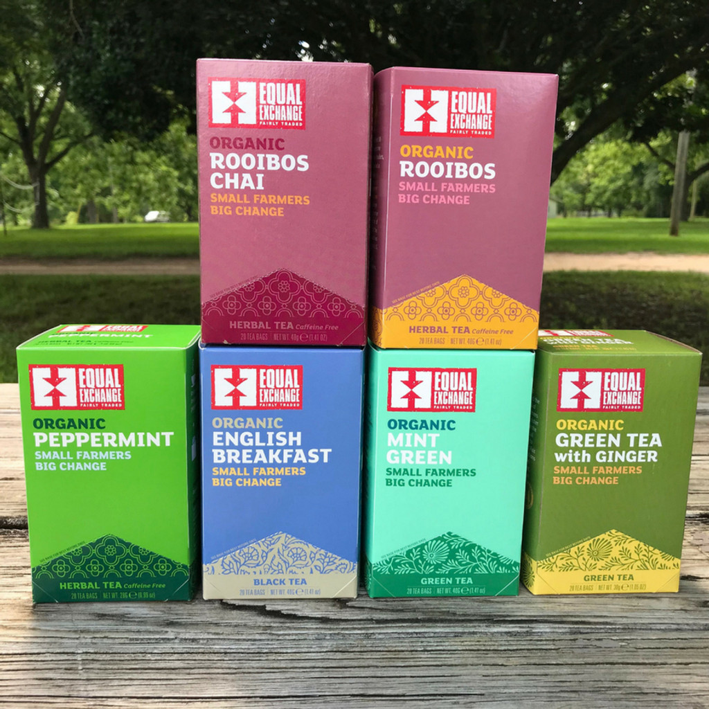 Equal Exchange Tea Options