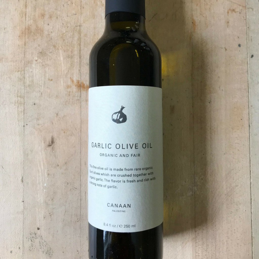 Garlic Olive Oil Front Label