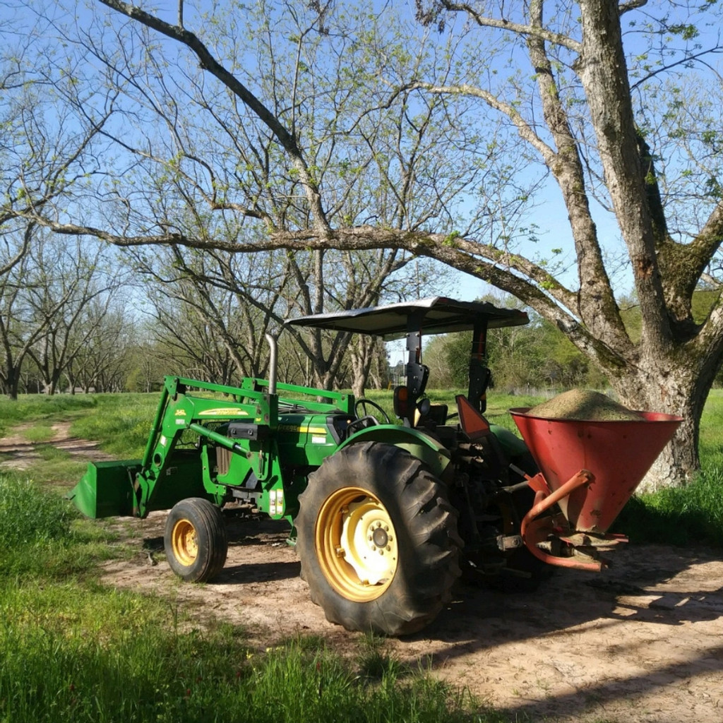 Koinonia Farm Tractor with Compost