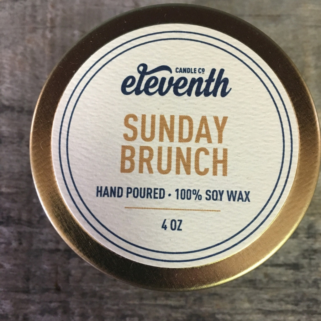 Sunday Brunch Candle 4oz Top