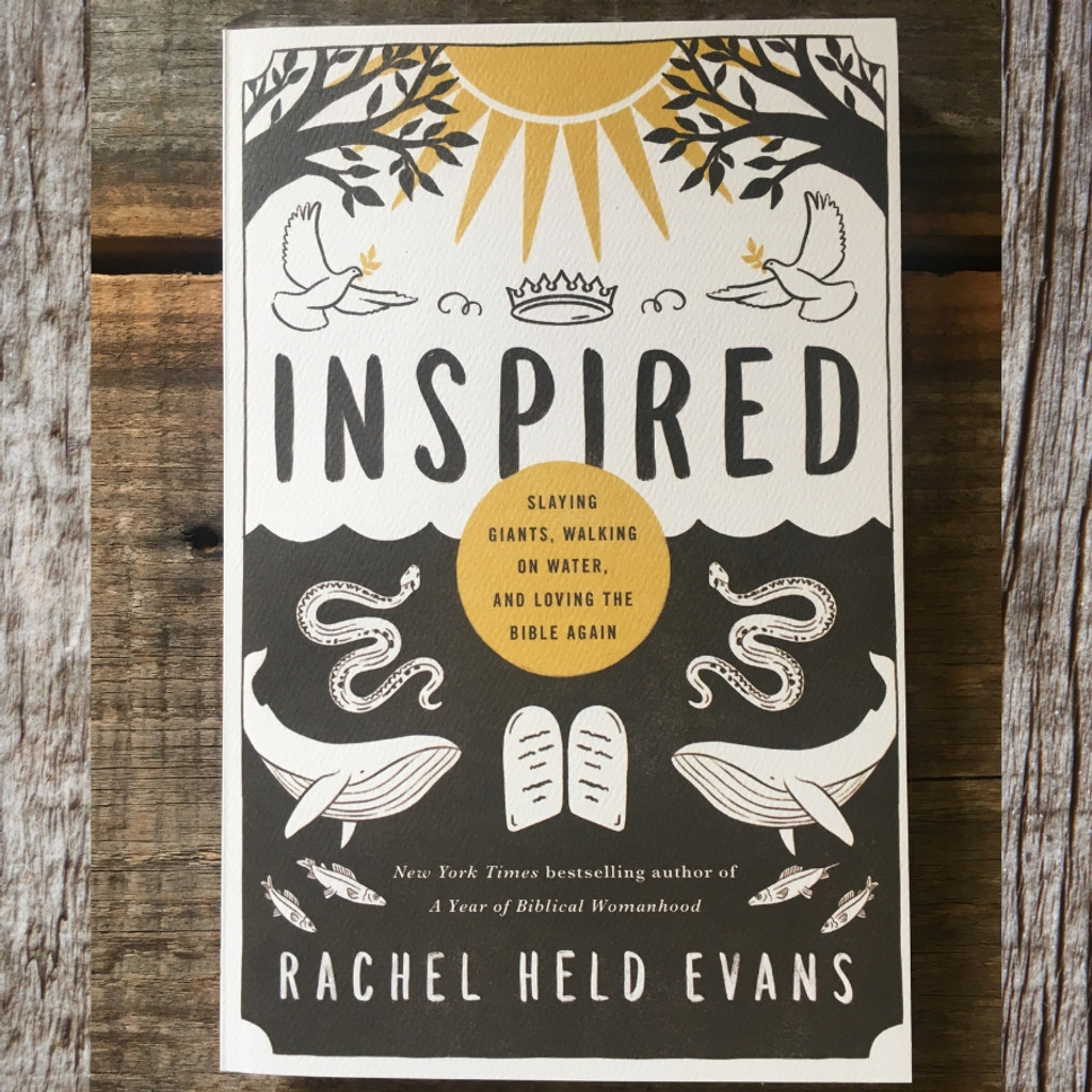 Inspired by Rachel Held Evans Book Front Cover