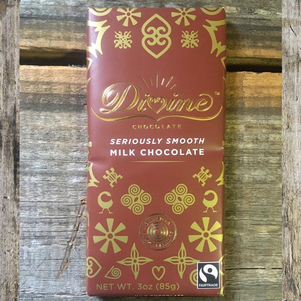Divine Fair Trade Milk Chocolate Bar