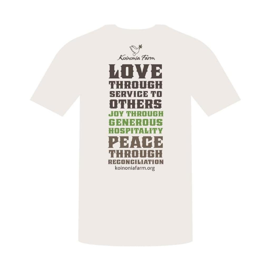 Koinonia Farm T-Shirt Back