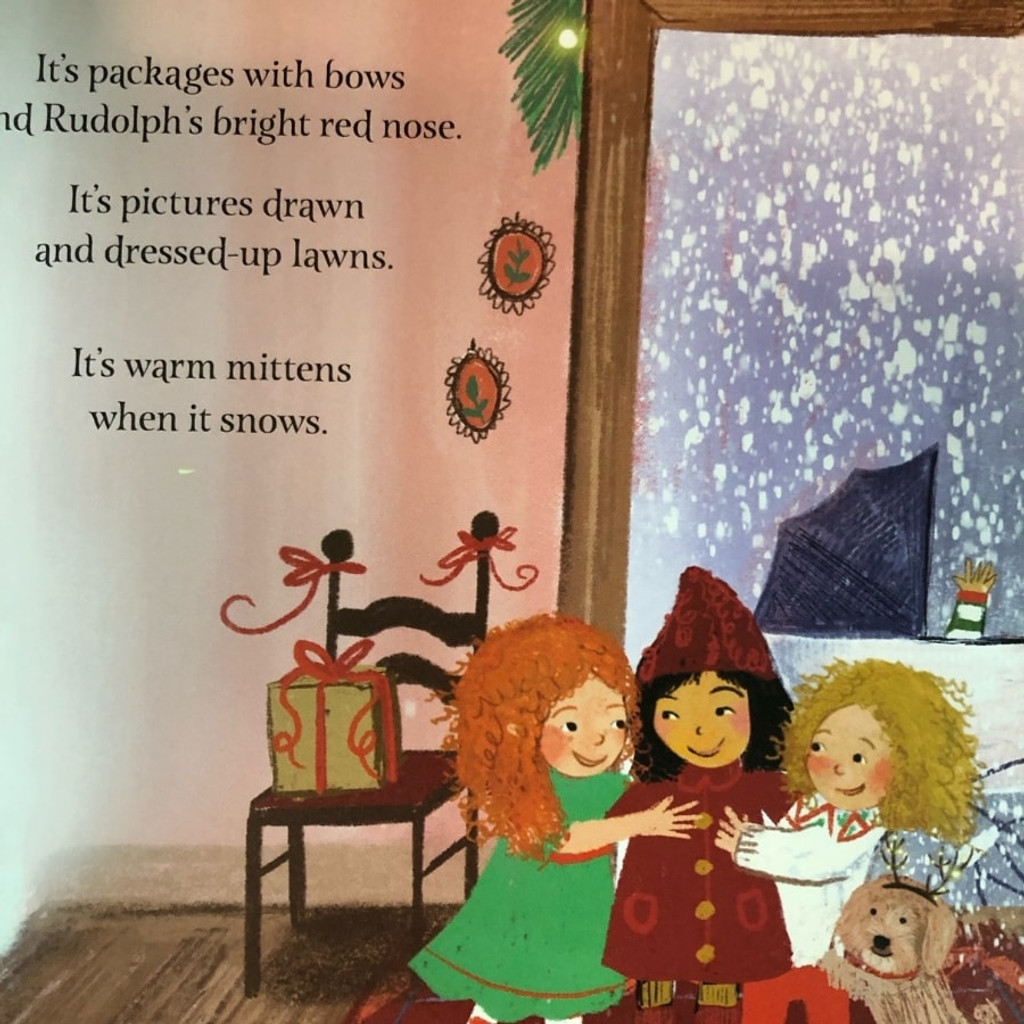 All the Colors of Christmas Inside Page