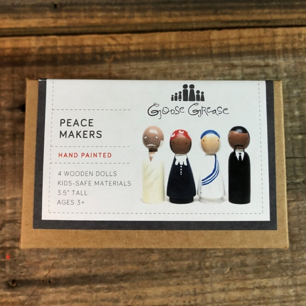Peace Makers Peg Doll Set Top