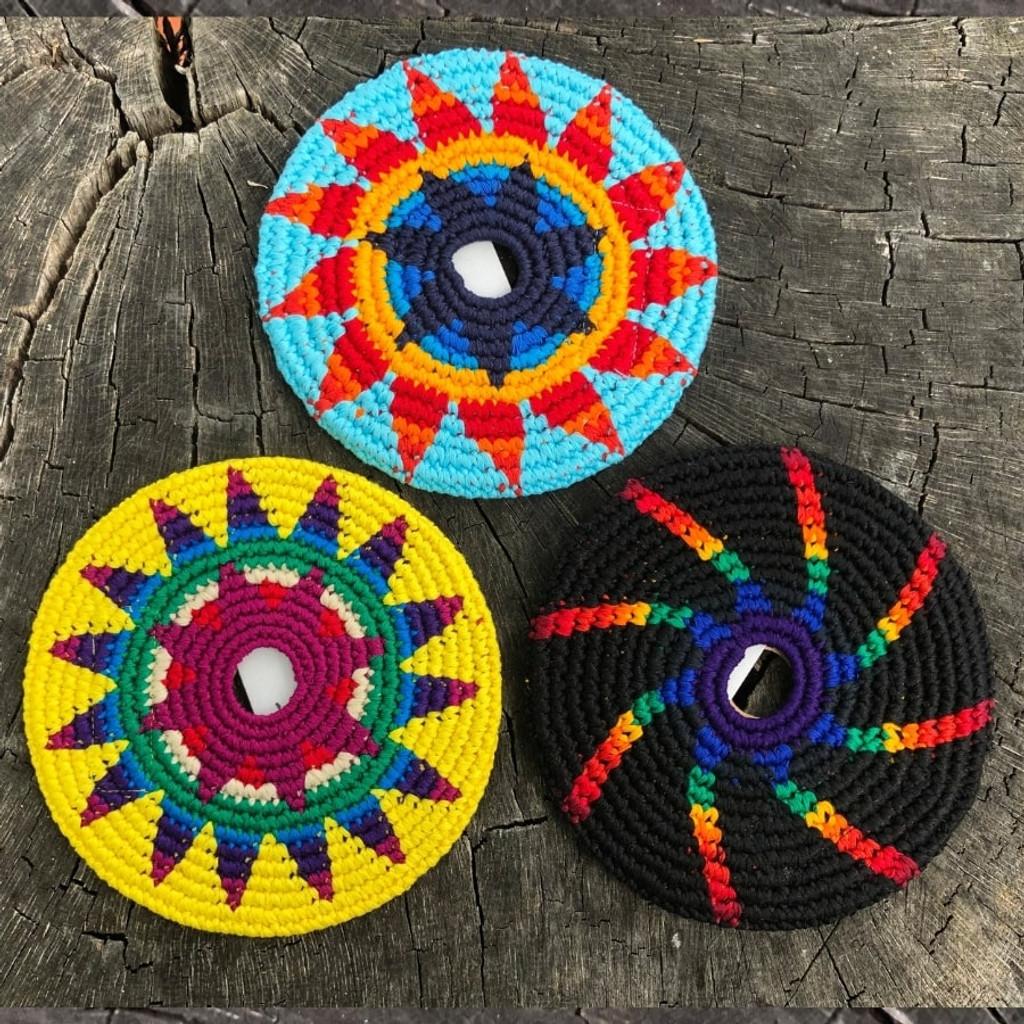 Three  MayaFlya Indoor Discs