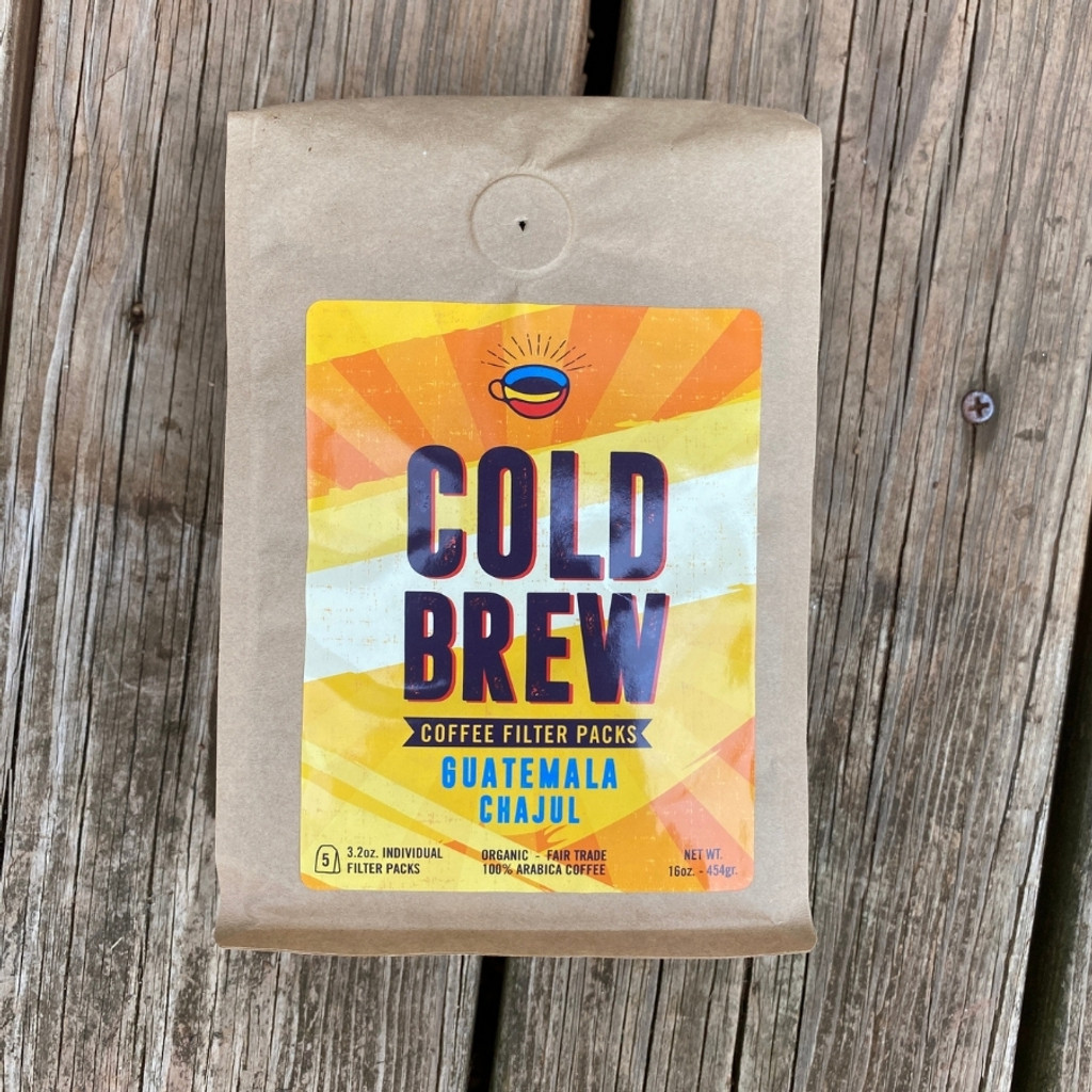 Cold Brew one pound bag front