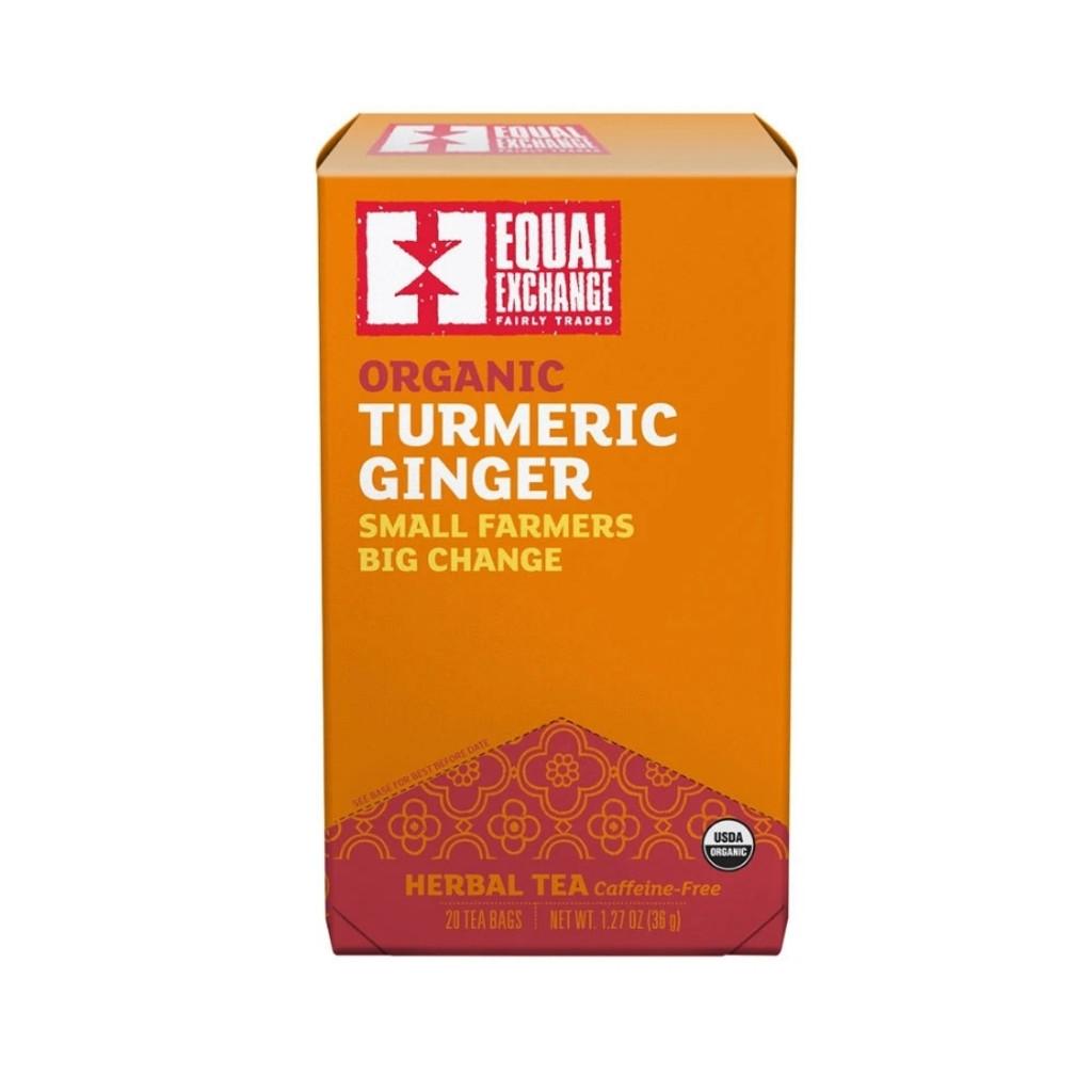 Turmeric Ginger Organic Tea