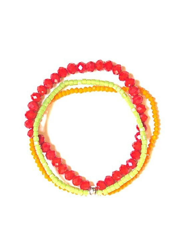 Sparkle Glass Bracelet - Margarita