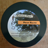 Koinonia Farm Shelled Pecan Halves 1 lb 8 oz Tin