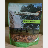 Koinonia Farm Pecan Pieces 1 lb bag front
